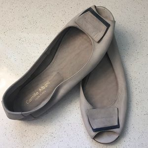 Camilla Albani (made in Italy) Leather Flats, 39